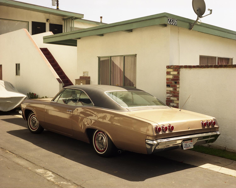 Brown car Santa Monica