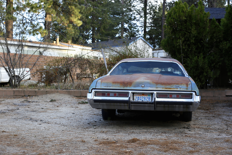 Blue Car Back Idylwild