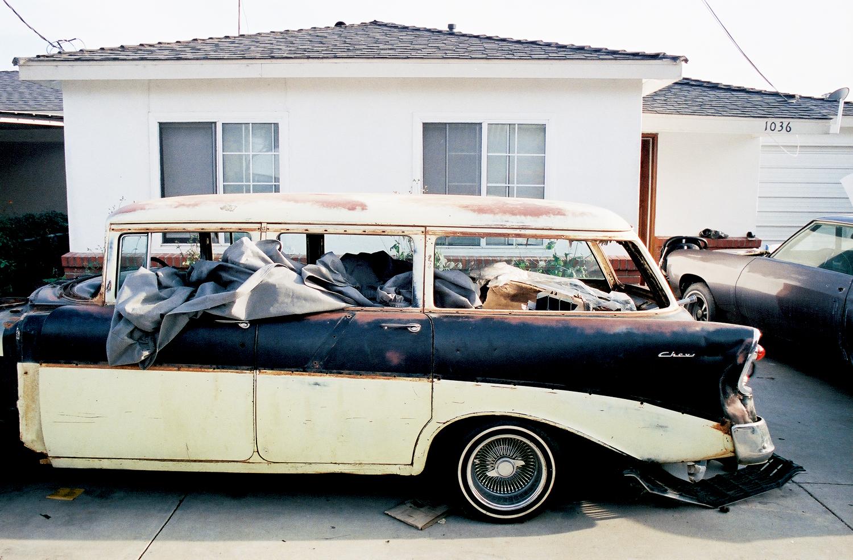 Brown Stripe car