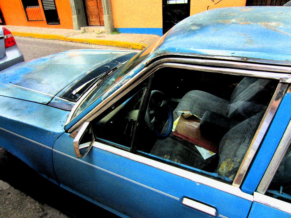 Blue Car website