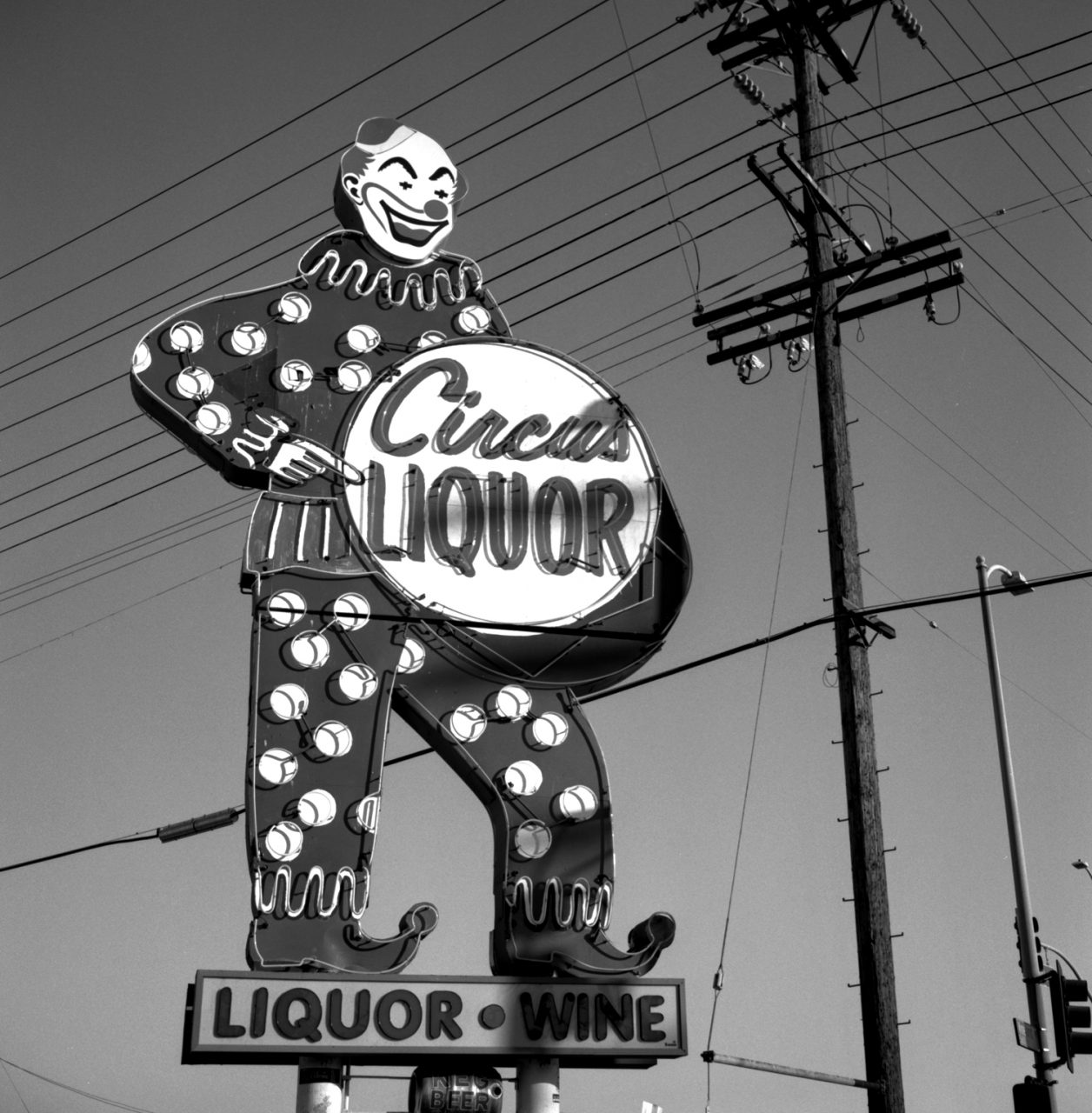 Circus Liquor Clown 1